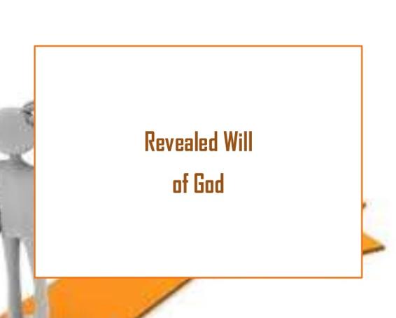 कैल्विनवाद, आर्मिनवाद और परमेश्वर कि तीन इच्छाएं